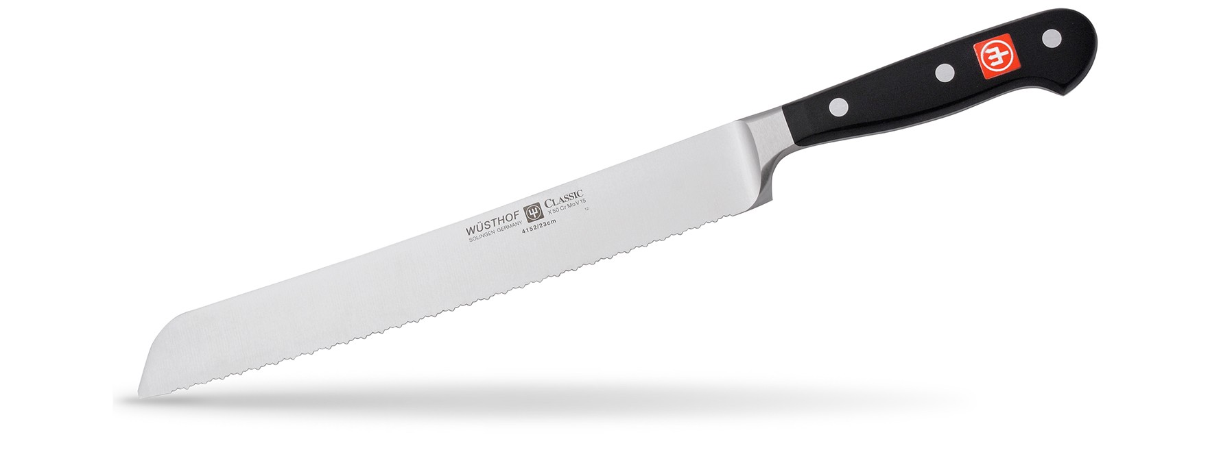 Wusthof Classic 9in. Double Serrated Bread Knife Photo
