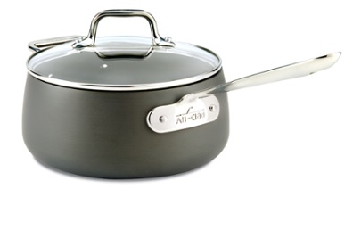 All-Clad HA1 Nonstick Sauce Pan with Lid Photo