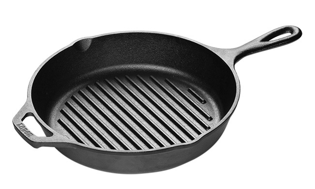 Lodge Logic 10 25 In Round Cast Iron Grill Pan Sugg Retail 45 00 Our Price 34 99