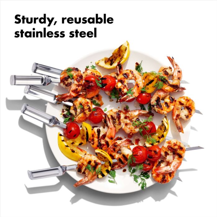 OXO Good Grips 6 Piece Grilling Skewer Se Photo